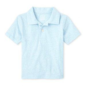NWT Children's Place Cloud Blue Polo Shirt 4T